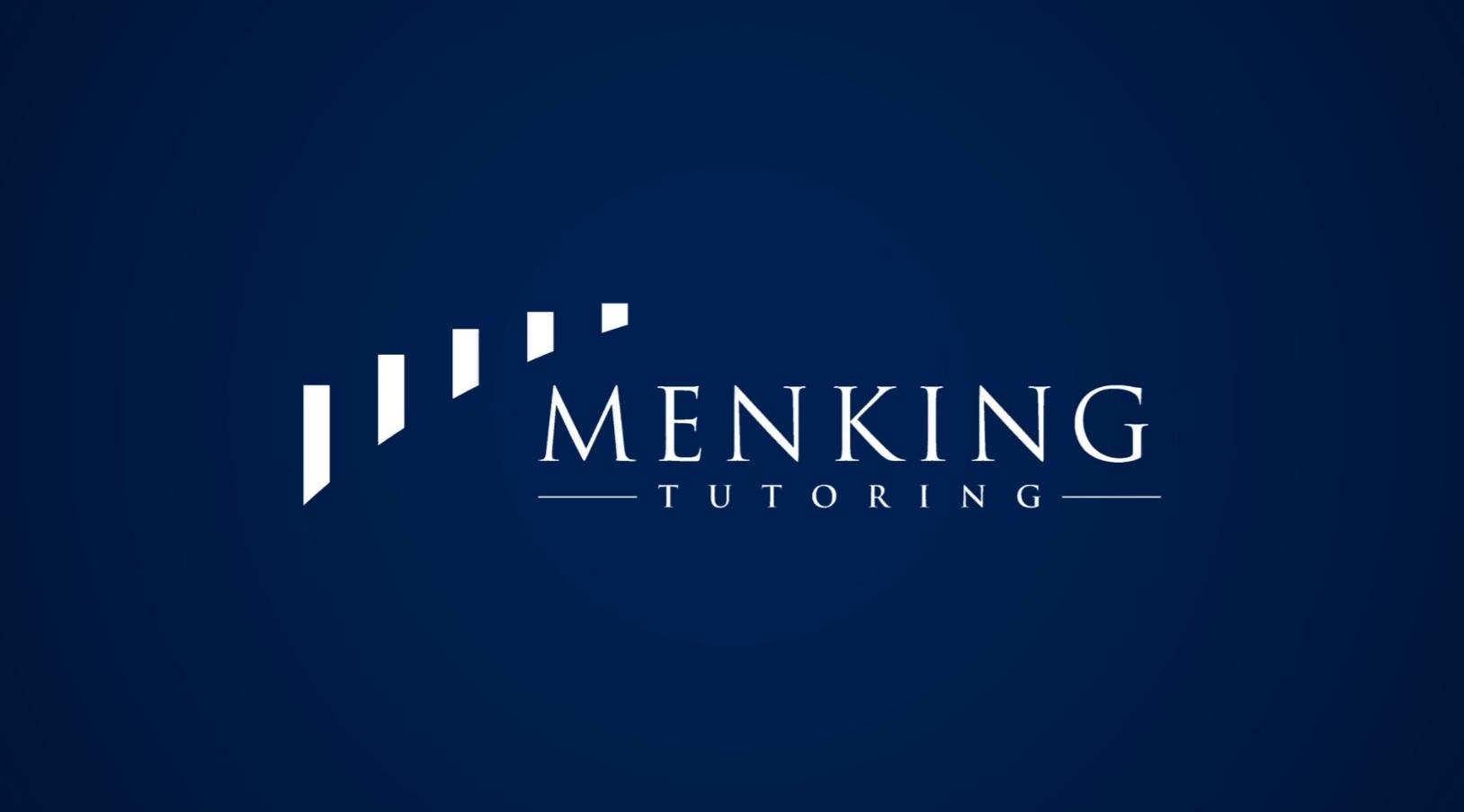 00-01 Welcome To Menking Tutoring